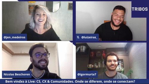 Customer Success, Customer Experience e Comunidades. Onde se diferem e onde se conectam! l 3ª Live TRIBOS.